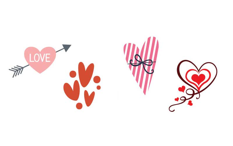 solid heart svg