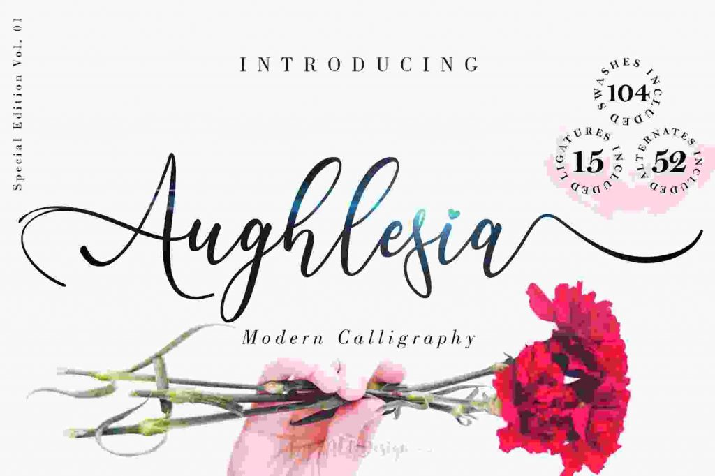 Aughlesia Calligraphy - Preview