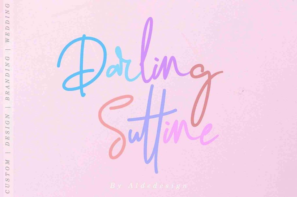 Darling Suttine - Preview